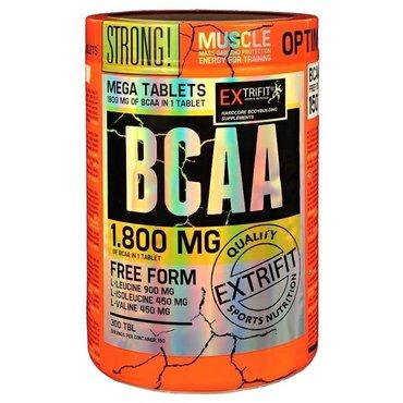 Sportovní výživa pro tebe - Extrifit BCAA 1800