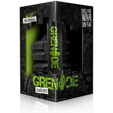 Grenade BLACK OPS + 2 x blister Grenade + 2 x vzorek Diet Whey