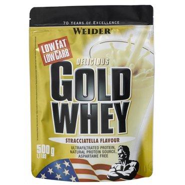 Sportovní výživa pro tebe - Weider Gold Whey 500 g
