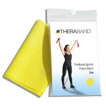 Sportovci! Vybavíme Vás - THERA-BAND posilovací guma 2 m, žlutá, slabá