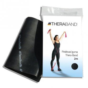S rehabilitačními pomůckami - Thera-Band Posilovací guma 2 m, černá, speciálně silná