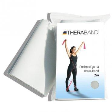 S rehabilitačními pomůckami - Thera-Band Posilovací guma 2 m, stříbrná, super silná