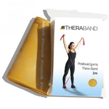 Rehabilitační pomůcky - Thera-Band Posilovací guma 2 m, zlatá, max. silná