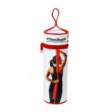 Sportovci! Vybavíme Vás - THERA-BAND posilovací guma 2,5 m s obalem, červená, středně silná