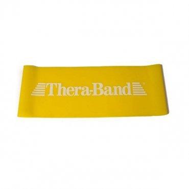 Sportovci! Vybavíme Vás - Thera-Band Loop Cvičební guma 30,5 cm - žlutá - slabá