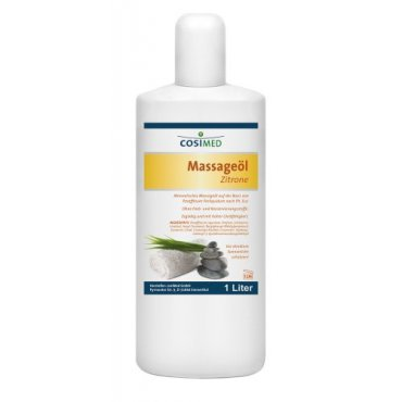 Regeneruj s námi - cosiMed masážní olej Citrón - 1000 ml