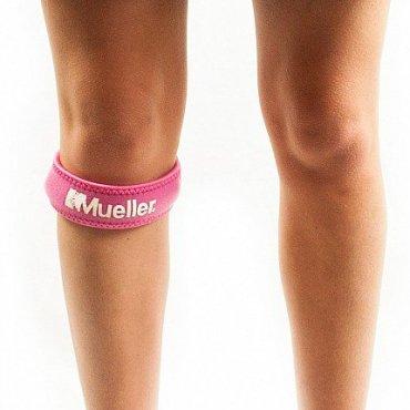 Funkční zóna - Mueller Jumper´s Knee Strap, podkolenní pásek růžový