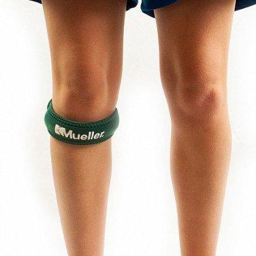 Funkční zóna - Mueller Jumper´s Knee Strap, podkolenní pásek zelený