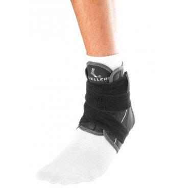 Funkční zóna - MUELLER Hg80® Premium Ankle Brace w/Straps, kotníková ortéza s pásy, XS-2XL