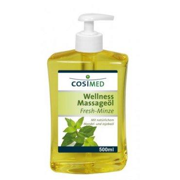 Regeneruj s námi - cosiMed wellness masážní olej Máta - 500 ml