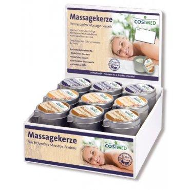 Regeneruj s námi - cosiMed prodejní set masážních svíček - 18 x 40 g
