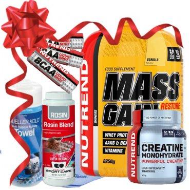 Sportovní výživa - Balíček MASS GAIN+