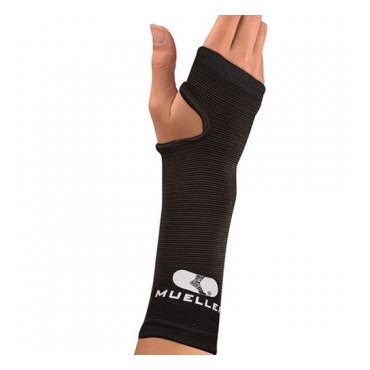 S rehabilitačními pomůckami - Mueller Elastic Wrist Support 405/406, zápěstní bandáž