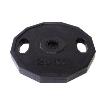 Zařiď si domácí posilovnu - Kotouč pogumovaný ARSENAL 25 kg, otvor 50mm