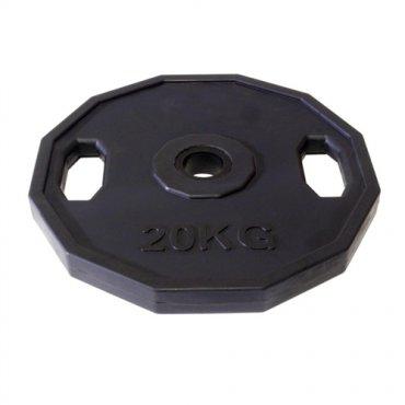 Zařiď si domácí posilovnu - Kotouč pogumovaný ARSENAL 20 kg, otvor 50mm