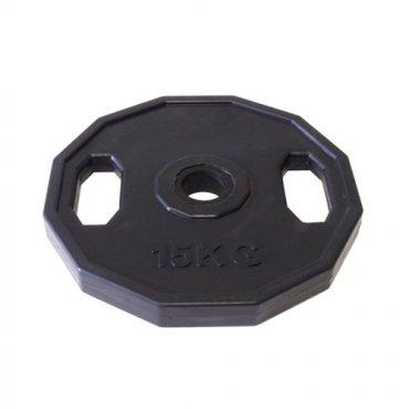 Zařiď si domácí posilovnu - Kotouč pogumovaný ARSENAL 15 kg, otvor 50mm