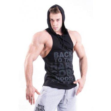 Oblékneme tě do nového - Nebbia Hard tílko s kapucí 374 černá