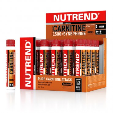 Sportovní výživa pro tebe - Carnitine 1500 + Synephrine