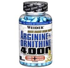 Arginine + Ortnithine 4.000