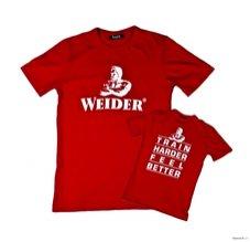 Tričko Weider, červené