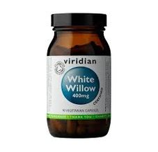 Viridian Organic White Willow Bark 400 mg 90 kapslí