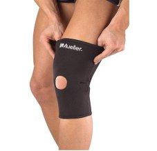 MUELLER Knee Sleeves Neoprene Blend Open Patella, kolenní návlek