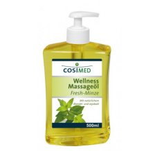 cosiMed wellness masážní olej Máta - 500 ml