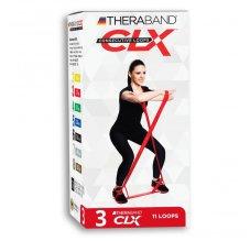 Thera-Band CLX - červený, středně silný