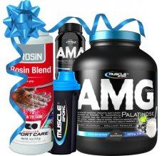 AMG Gainer Palatinose+AMA+šejkr+magnezium ZDARMA!