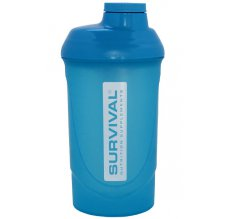 Shaker SURVIVAL 600 ml - Modrý