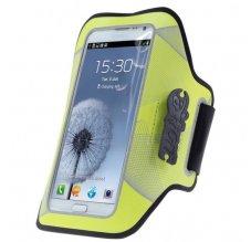 JOY Night Run Armband pro velké chytré telefony - žlutý