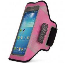 JOY Night Run Armband pro velké chytré telefony - růžový