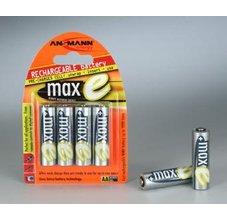 Ansmann maxE Mignon NiMH 4xAA 2100mAh, 4ks tužkové baterie