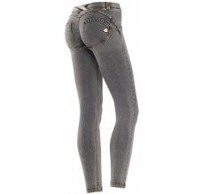 Freddy WR.UP® 7/8 kalhoty džínové šedá