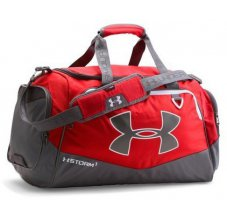 Under Armour Storm Undeniable II MD Duffle Červená