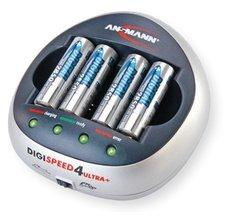 Ansmann DIGI-SPEED 4 Ultra + 4xAA 2850 mAh-10min