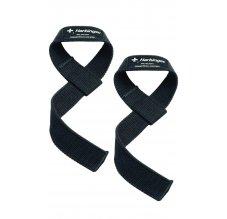Harbinger Cotton Lifting Straps, Fitness trhačky, černé