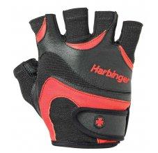 Harbinger FlexFit™ - Men, Fitness rukavice, černo-červené