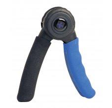 Harbinger Power hand grip, Posilovač zápěstí, černo-modrý