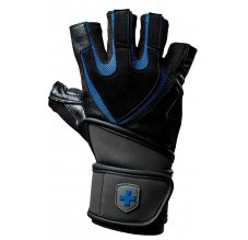 Harbinger Training Wristwrap, Fitness rukavice, černo-modré