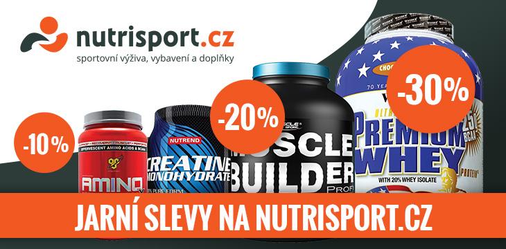 Nutrisport jarní slevy - NUTRISPORT.cz